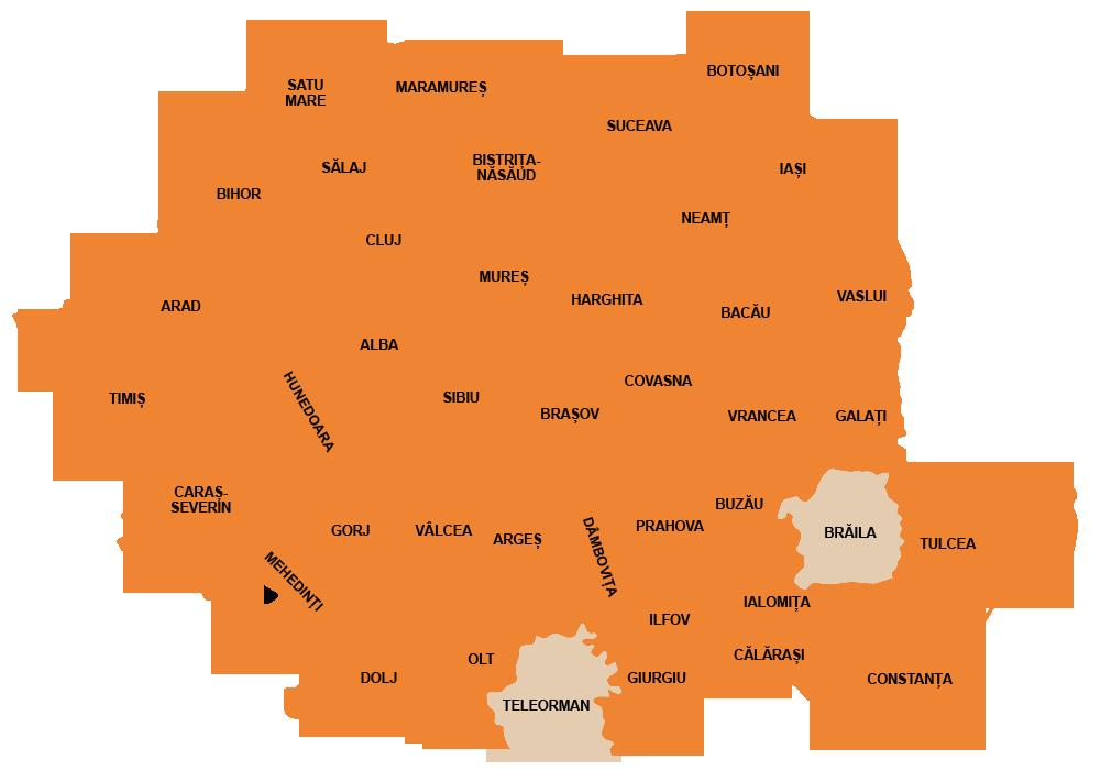 harta-sarpele-de-alun-coronella-austriaca